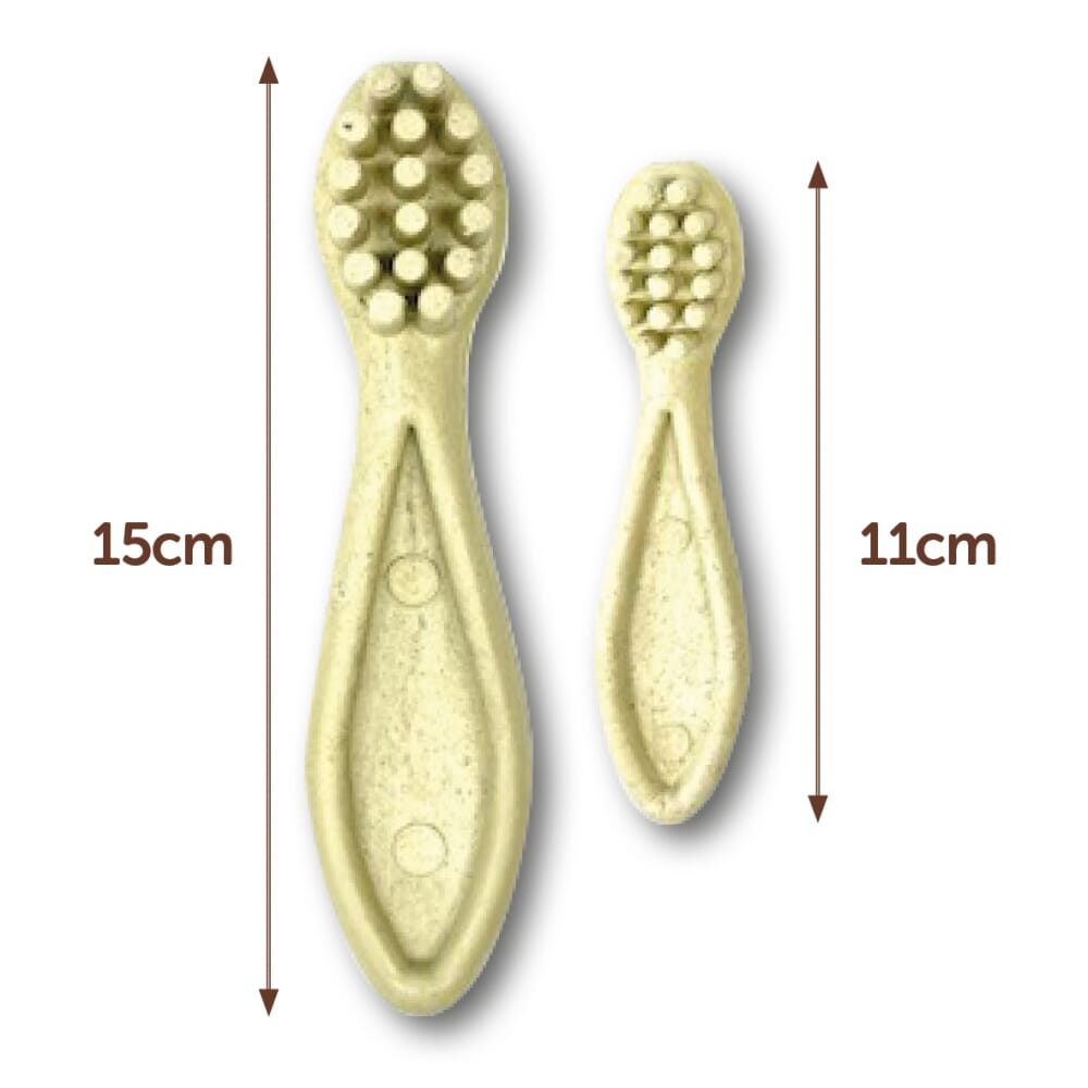 Natural Edible Chew Toothbrush (2 sizes)