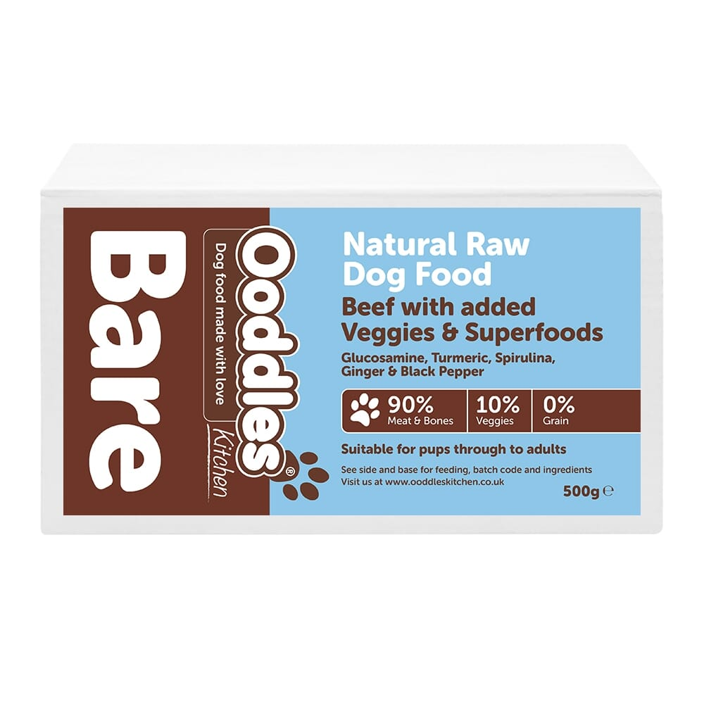 Beef BARE with Superfoods & Veggies (RAW)