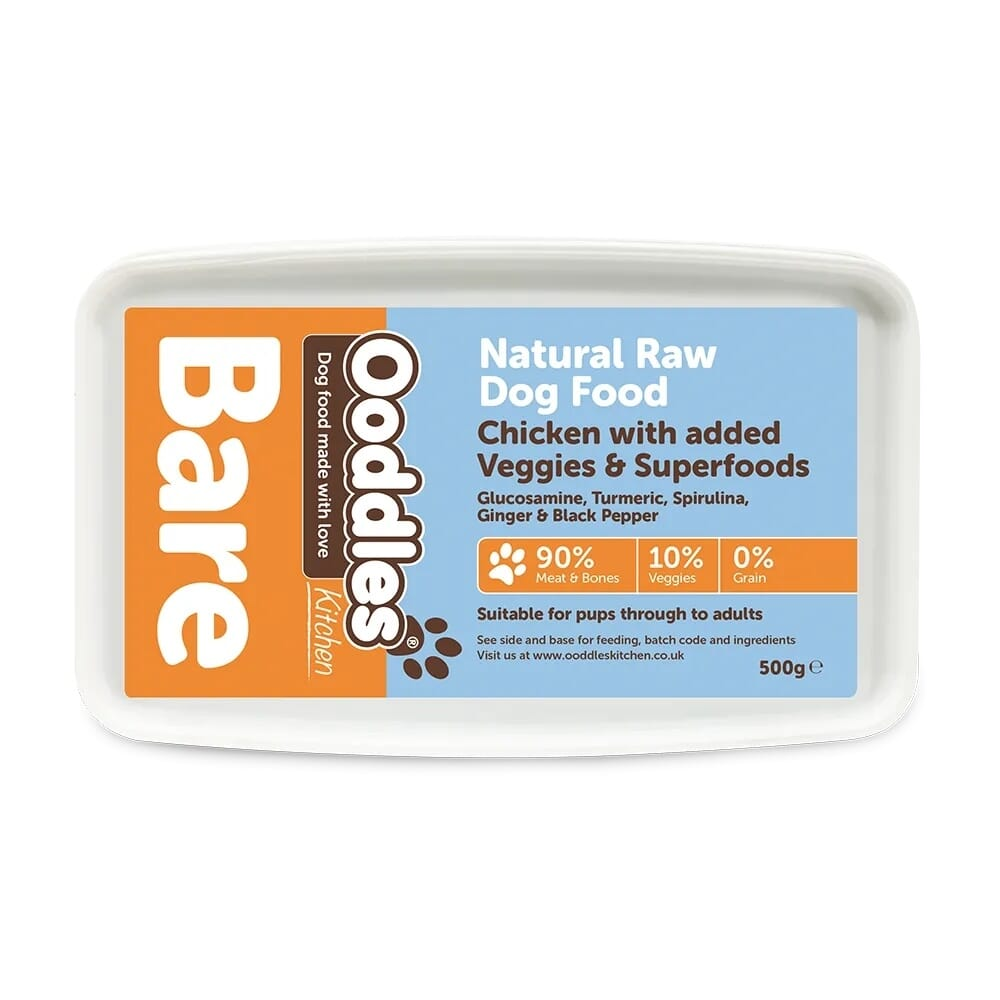 Chicken BARE with Superfoods & Veggies (RAW)