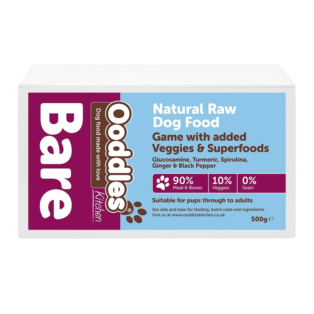 Game BARE with Superfoods & Veggies (RAW)