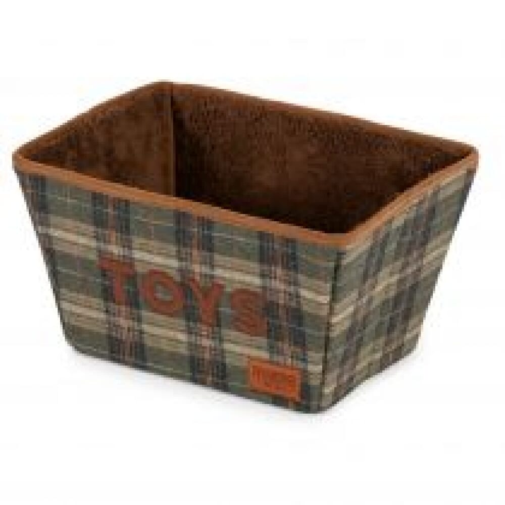 Heritage Tweed Collapsible Toy Box