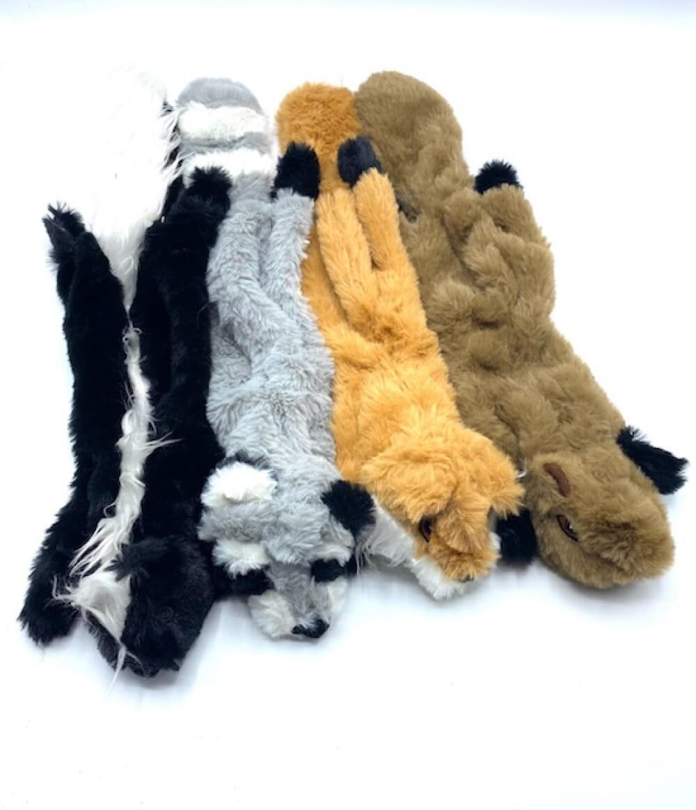 No Stuffing Toys With Squeakers