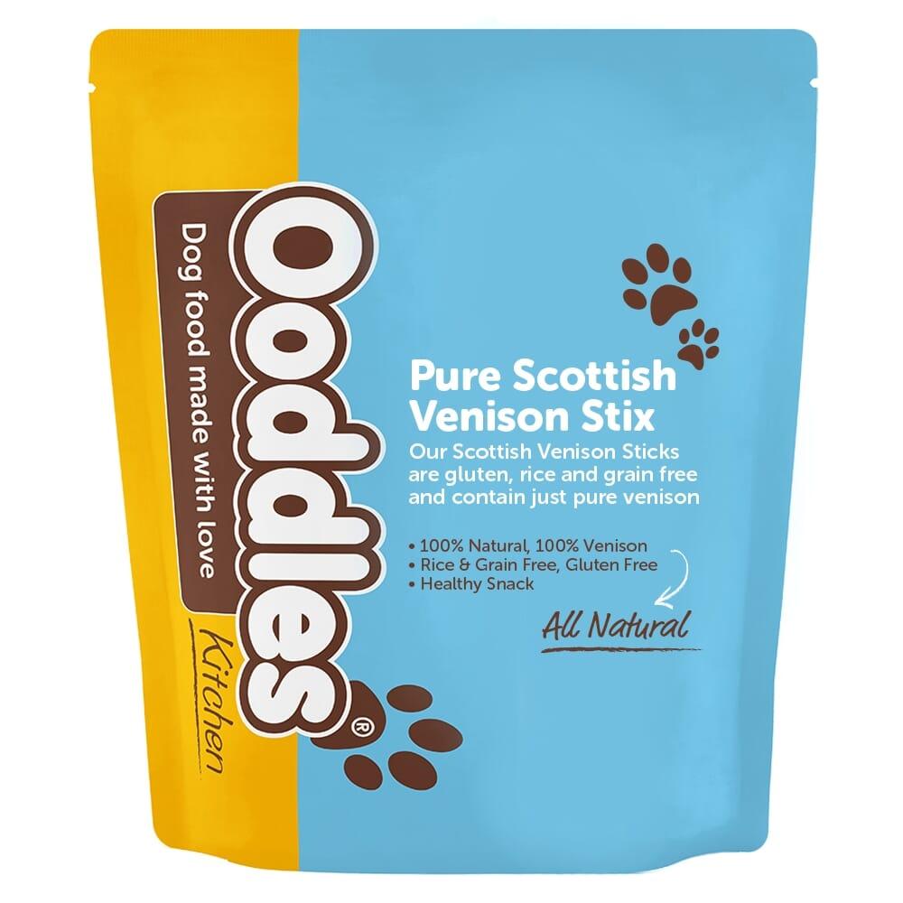 Pure Scottish Venison Sticks, 100% Natural