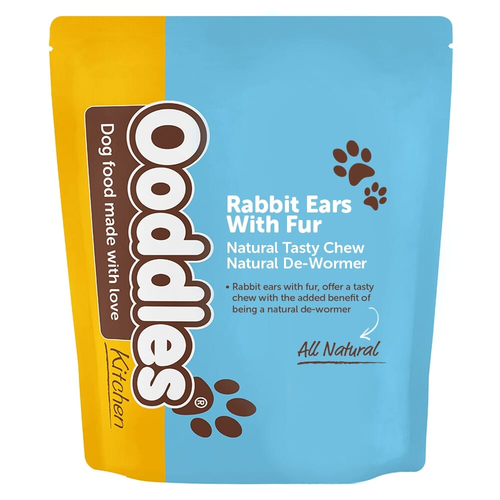Rabbit Ears With Fur - Natural Dewormer