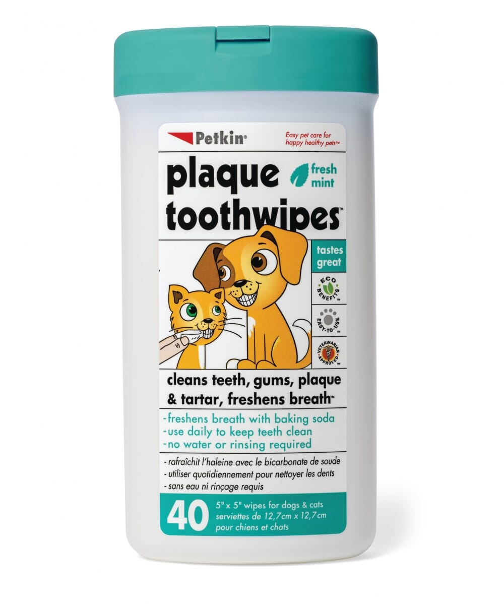 Plaque Toothwipes (pack of 40)