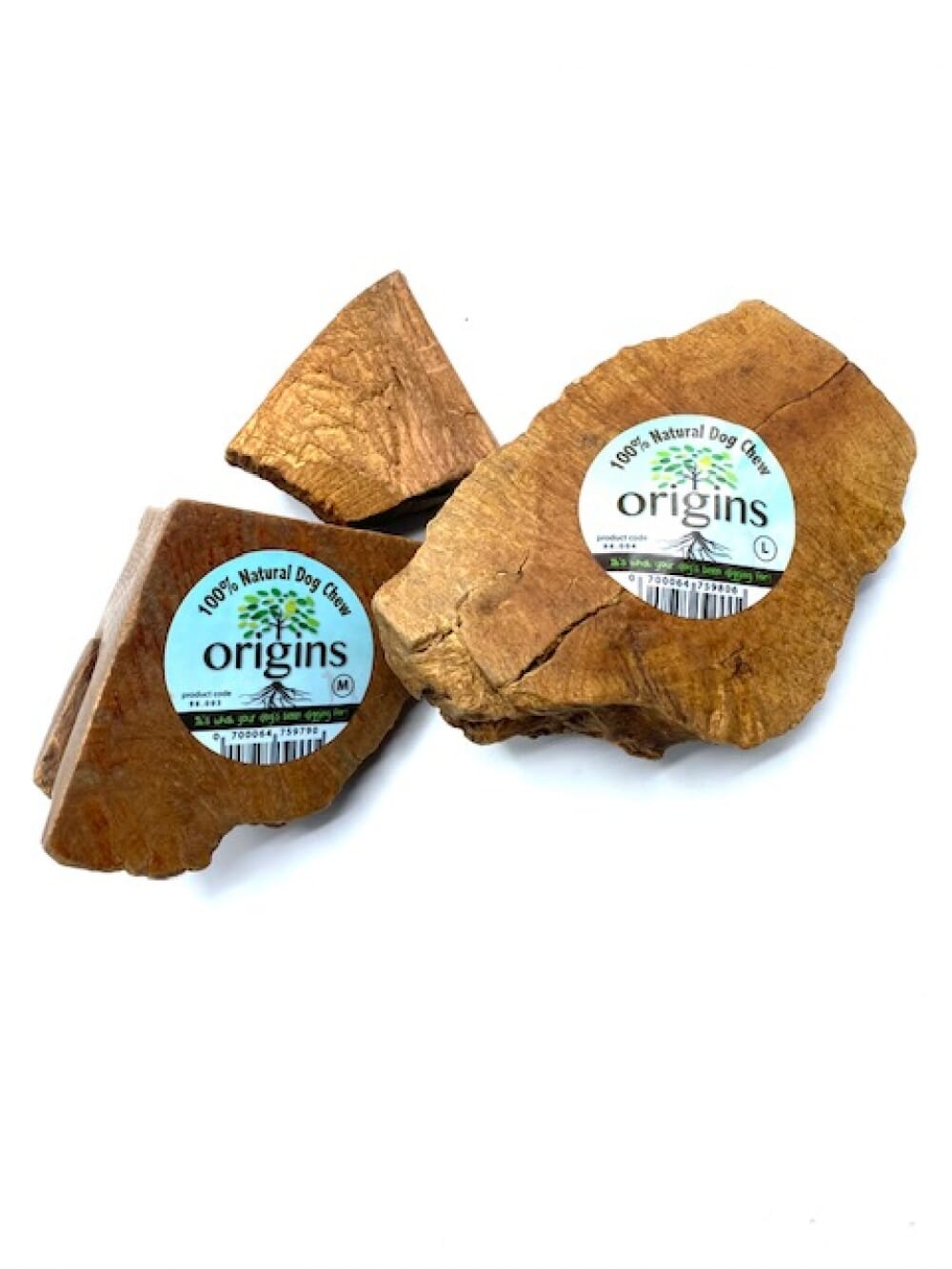 Tuber Chew Roots Natural  - Various Sizes